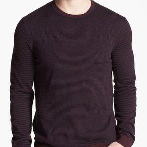 Ted Baker London Moseley Crewneck Striped Sweater